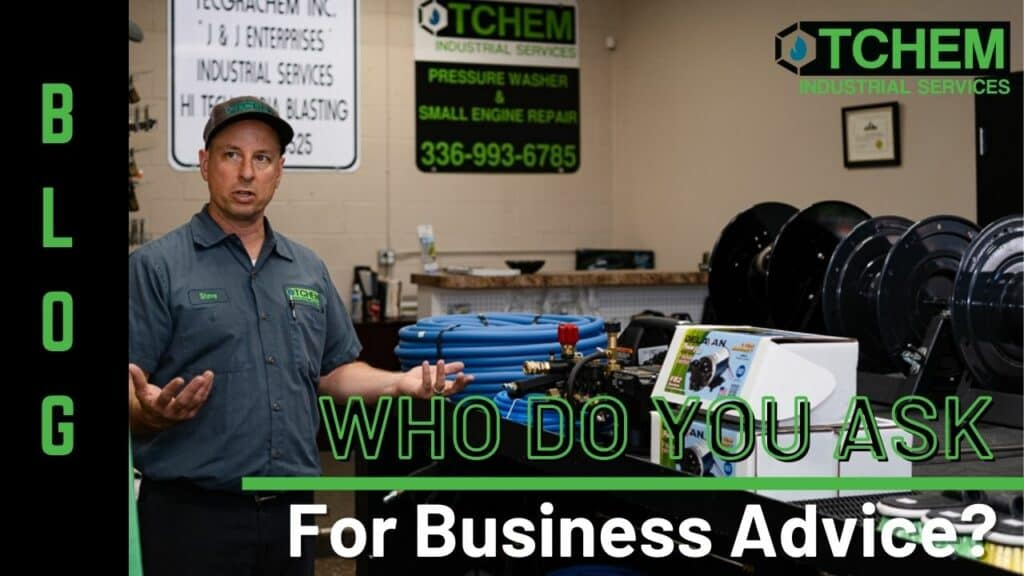 The TCHEM Shop with Pressuring Washing Tools Offers More Than Parts, They Offer Advice To Run Your Business.